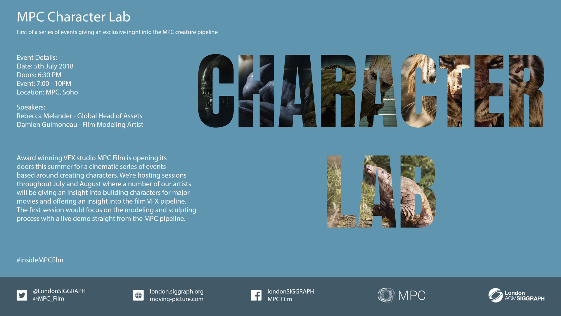MPC Character Lab – Session_01 Poster