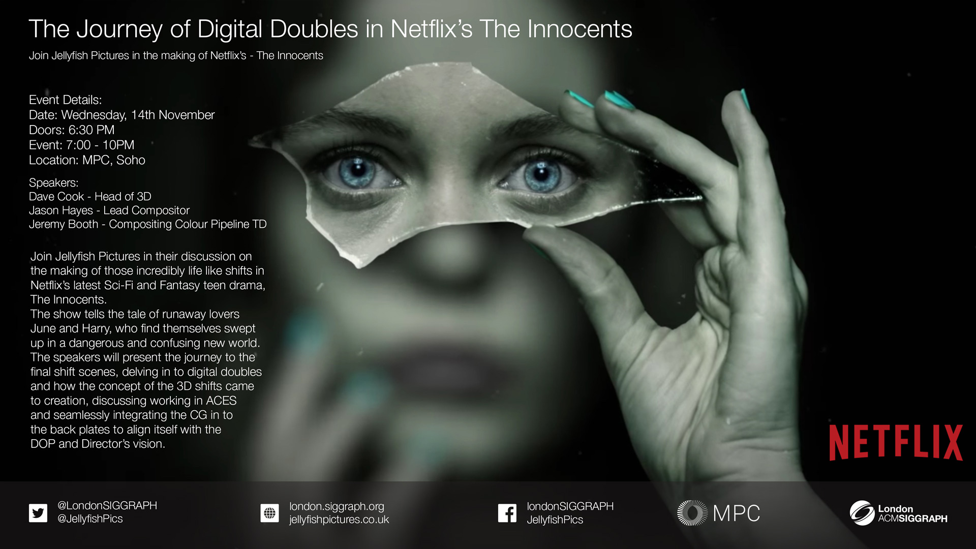 Jellyfish Pictures on making Netflix's – The Innocents Poster