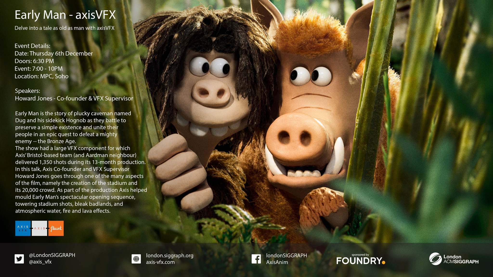 Early Man – Axis VFX Poster