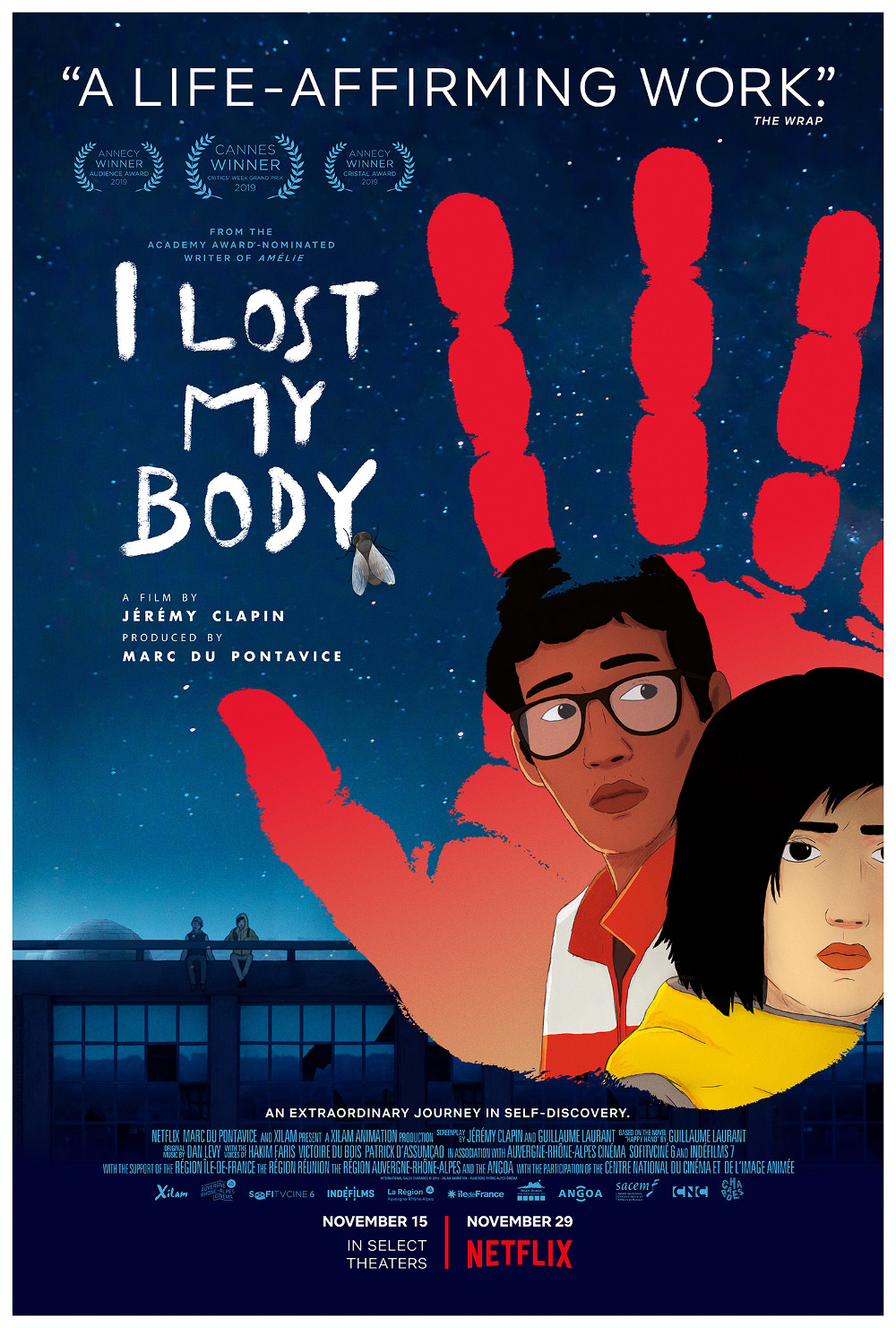 I LOST MY BODY – Special Screening and Q&A Poster