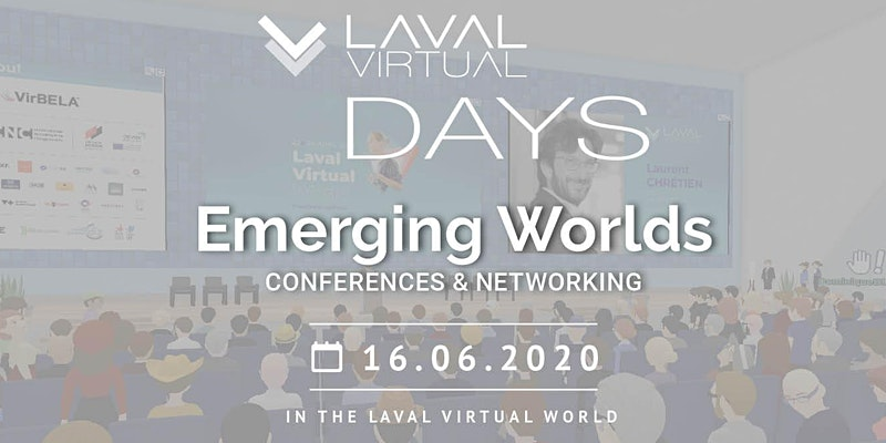 Laval Virtual Days Emerging Worlds Poster