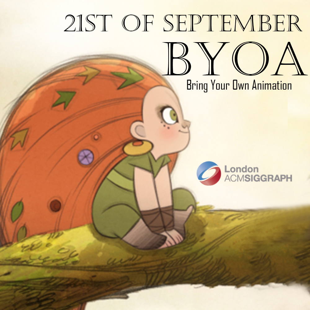 Bring Your Own Animation – September Edition Poster
