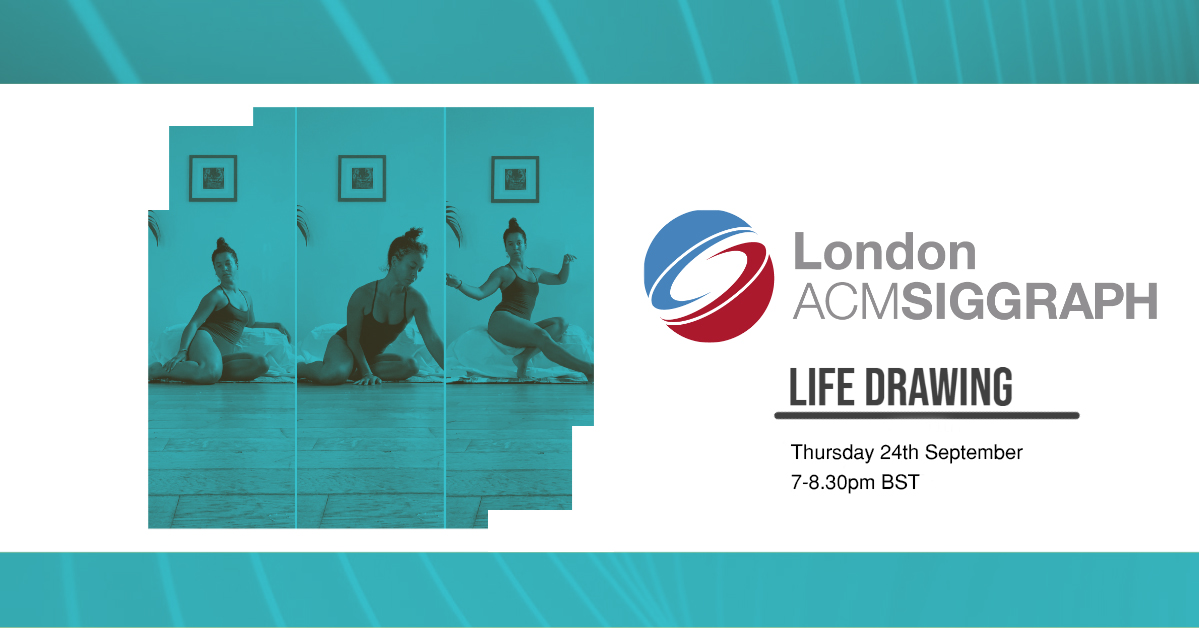 Life Drawing – Zoom Edition – September Poster