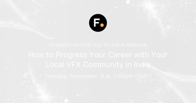 How to Progress Your Career with Your Local VFX Community in India Poster