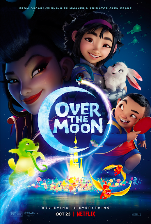Over The Moon  – Q&A with director Glen Keane, actor Cathy Ang and producers Gennie Rim and Peilin Chou Poster