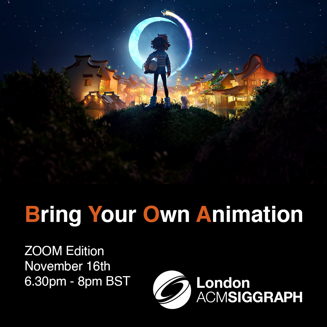 Bring Your Own Animation – November edition Poster