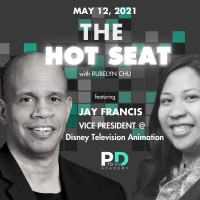 The Hot Seat: Jay Francis   Vice President @ Disney Television Animation Poster