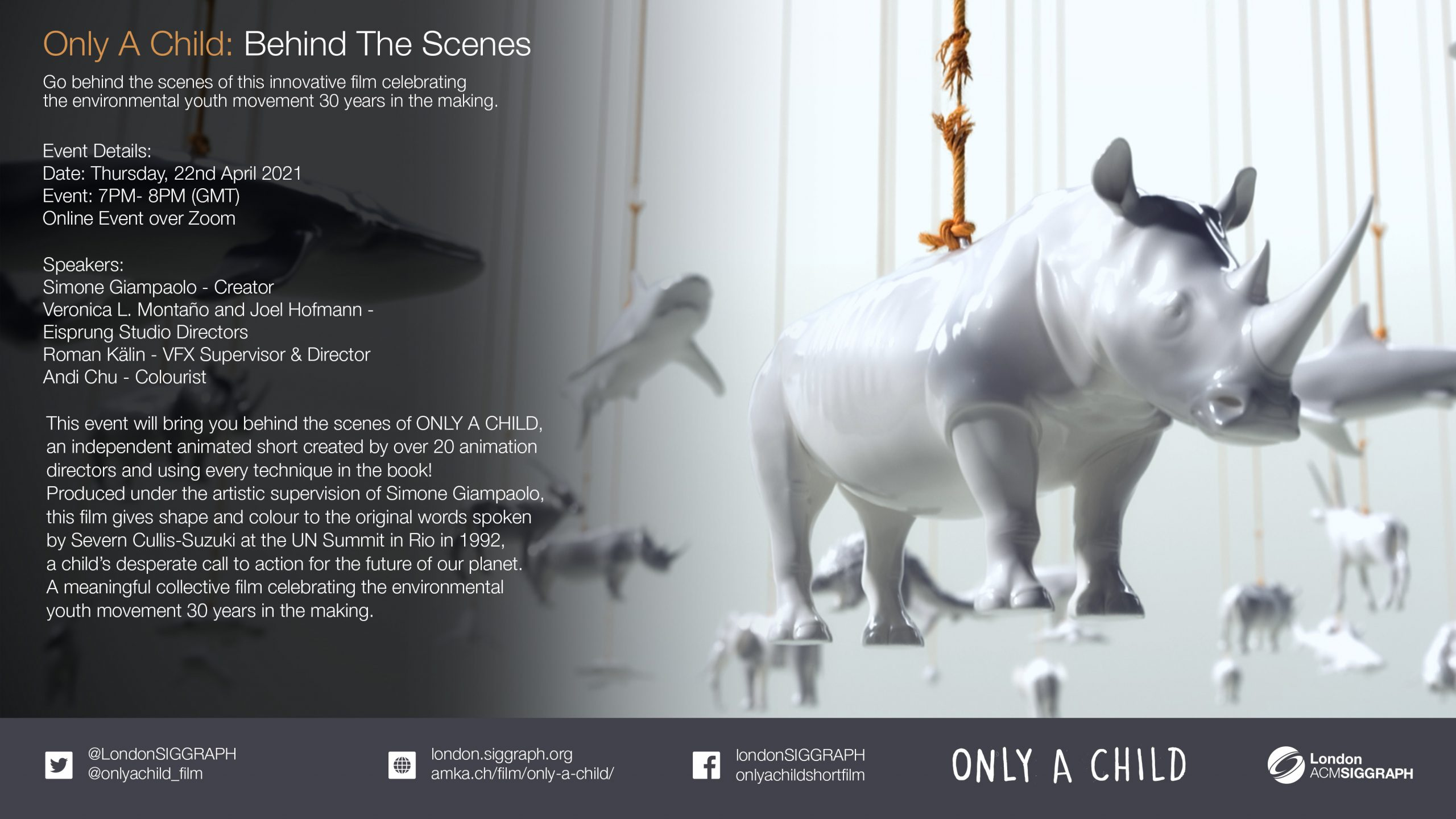 ONLY A CHILD: Behind The Scenes Poster