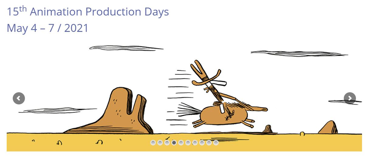 15th Animation Production Days Poster