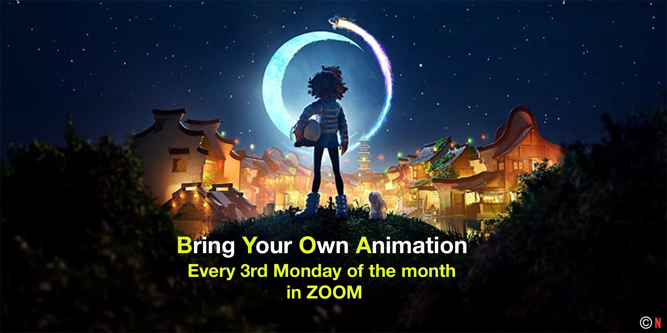 BRING YOUR OWN ANIMATION – JUNE EDITION Poster