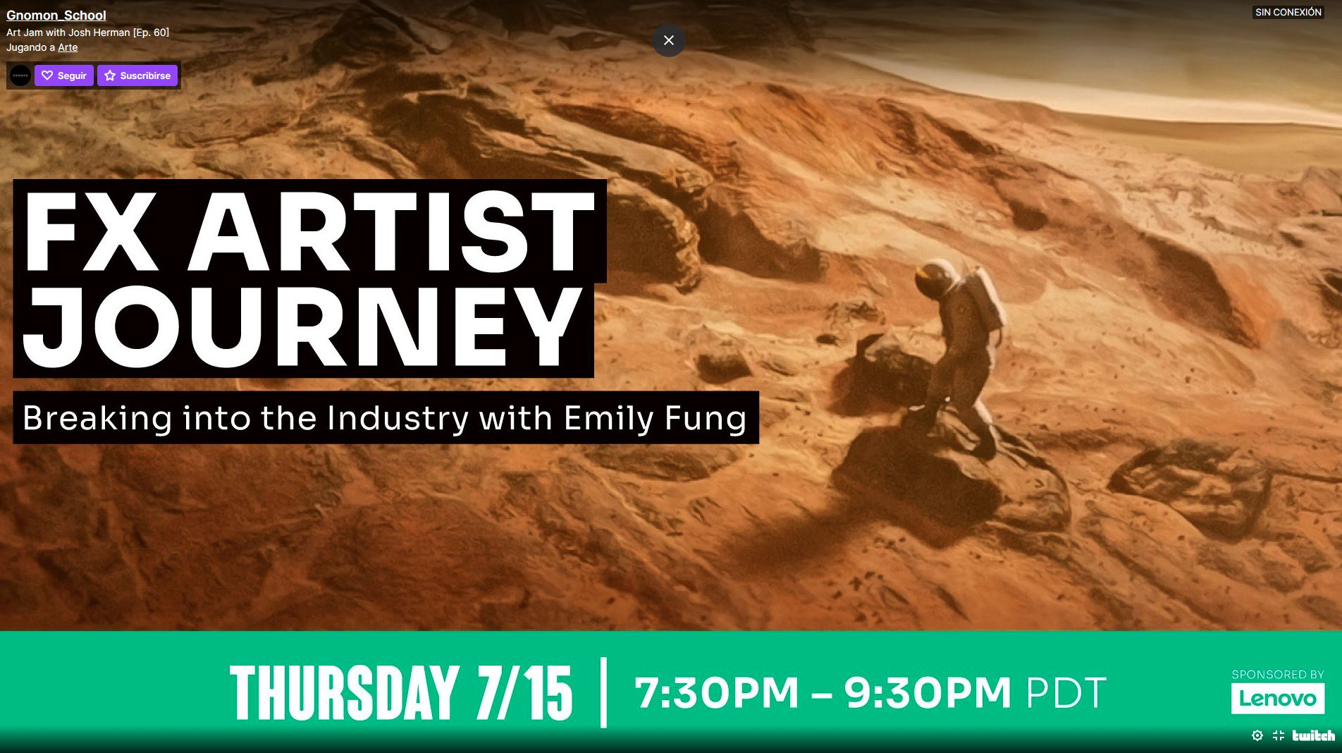 FX Artist journey – Breaking into the industry with Emily Fung Poster